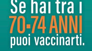 Come si prenota il vaccino -tra i 74 e i 70 anni e  condizioni di elevata fragilità
