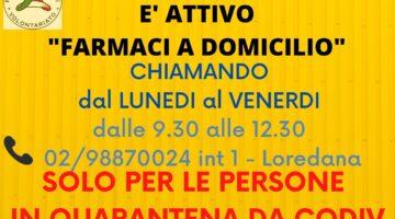 """""""FARMACI A DOMICILIO"""" SOLO PER PERSONE IN QUARANTENA DA COVID"""