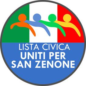 LISTA 3 logo UNITI PER SAN ZENONE