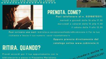 LIBRI E FILM D'ASPORTO IN BIBLIOTECA