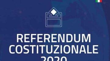 """REFERENDUM COSTITUZIONALE EX ART. 38 DELLA COSTITUZIONE PER L'APPROVAZIONE DEL TESTO DELLA LEGGE COSTITUZIONALE CONCERNENTE """"MODIFICHE AGLI ARTICOLI 56, 57 E 59 DELLA COSTITUZIONE IN MATERIA DI RIDUZIONE DEL NUMERO DEI PARLAMENTARI"""
