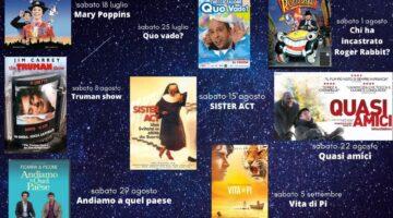 Cinema sotto le Stelle dal 18 luglio