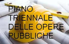 Piano triennale opere publiche